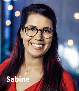 Digital Marketing Talent Sabine