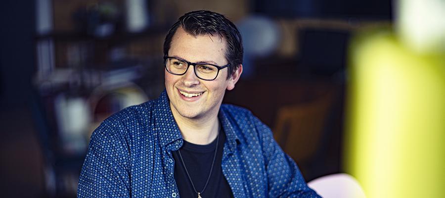 Jesse Slabbekoorn young digital designer oxxio